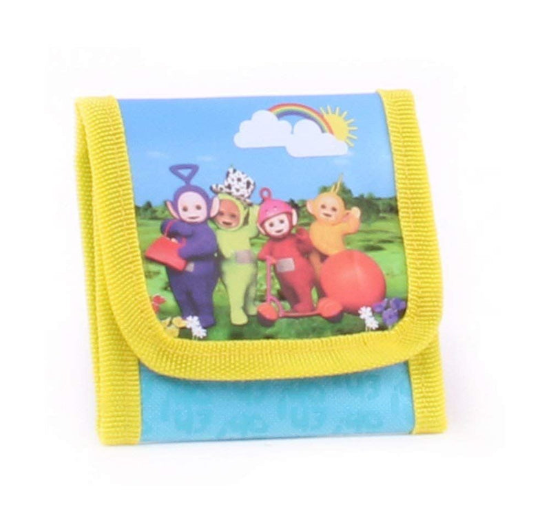 Teletubbies Wallet Coin Pouch, 10 cm, Blue
