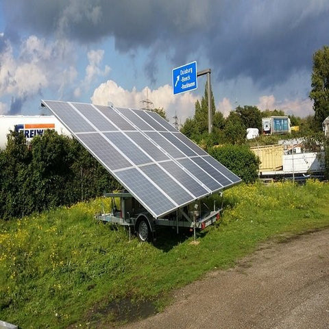 Trailers That Provide Solar Power