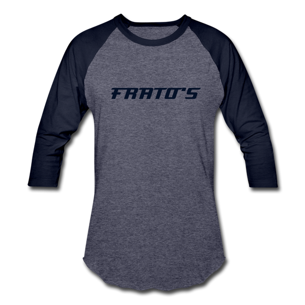 Frato's - Baseball T-Shirt - heather blue/navy