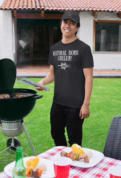 Natural Born Griller - Foodie Apparel - Unisex Classic T-Shirt