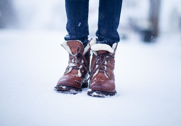 Shearling-Lined Boots and Shoes, New England Essentials
