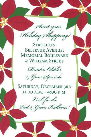 Join Us for the Bellevue Holiday Stroll!