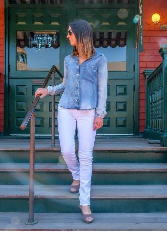 Summer Tips for White Jeans