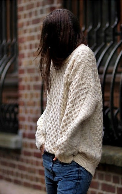 Sweater Weather: Fisherman Knit Edit