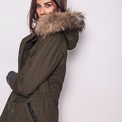 Stay Warm with This Fur-Lined Parka