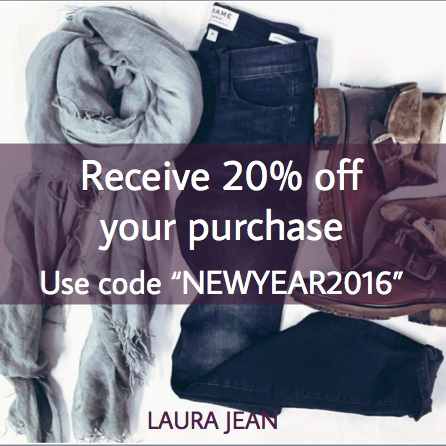 Receive 20% Off Your Purchase