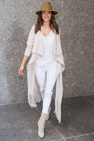 Trend Alert: White Denim & White Tops