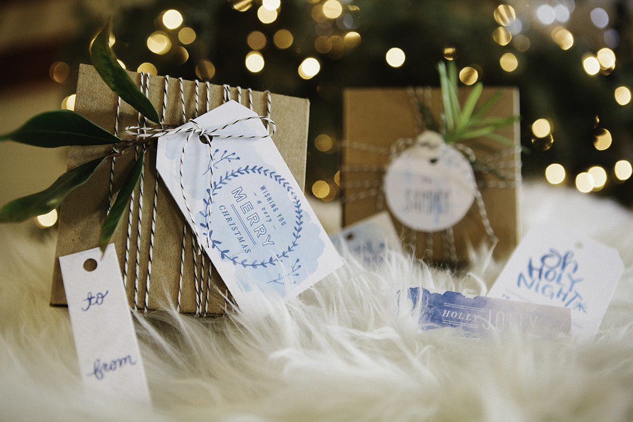 Pretty & Printable Gift Tags by M Stetson