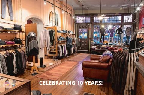 Celebrate Ten Years with us on August 22
