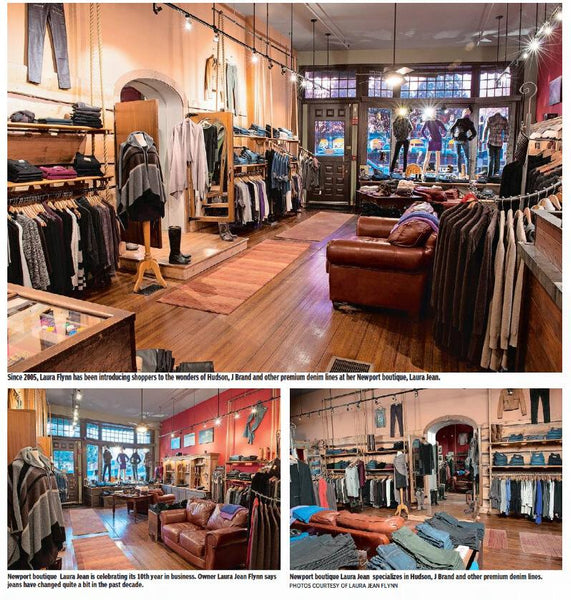 Laura Jean Denim Newport Rhode Island in Providence Journal 2015