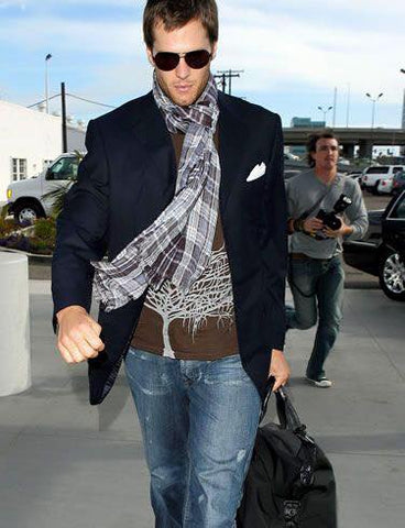 Tom Brady, New England Patriots Quarterback, has great men's style!