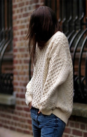 Large Knit Sweater
