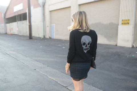 Cupcakes and Cashmere in Skull Cashmere