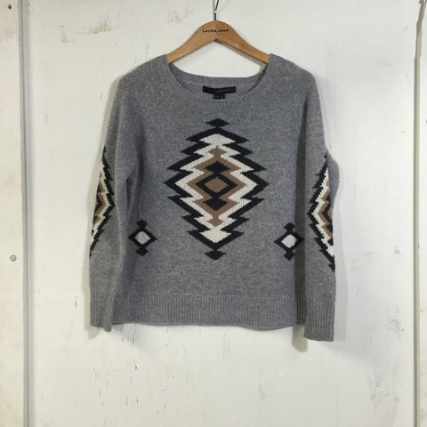 360 Cashmere - Skyler - Tribal Grey