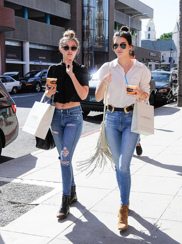Kendall Jenner and Gigi Hadid style
