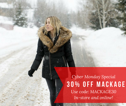 30% off Mackage