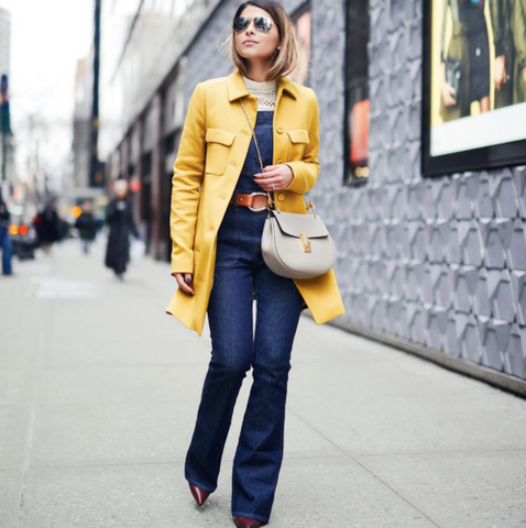 Pam Hetlinger street style New York Fashion Week