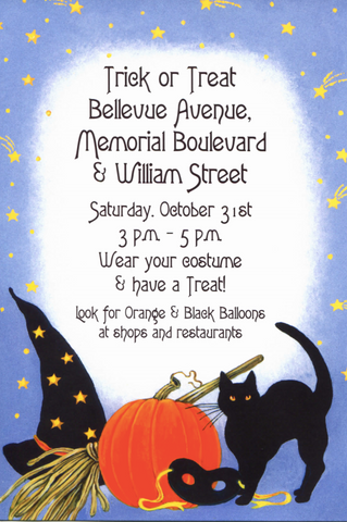 Bellevue Avenue Halloween Stroll