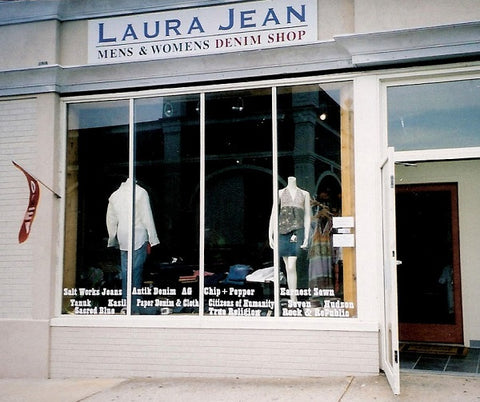 Laura Jean Denim, original William Street location