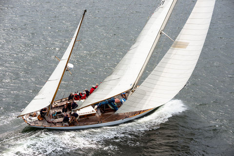 Black Watch sailing in the Museum of Yachting Classic Yacht Regatta. Photo by Cory Silken.