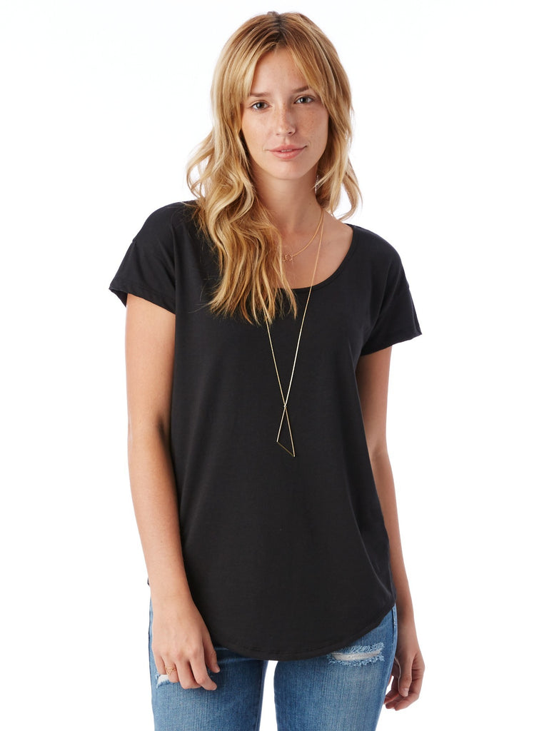 Origin Cotton Modal T-Shirt - Black