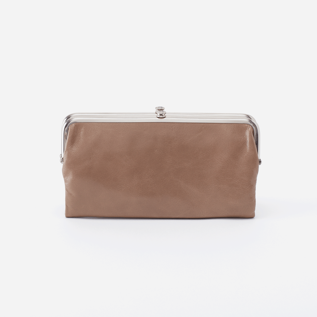 Lauren Clutch Wallet - Cobblestone