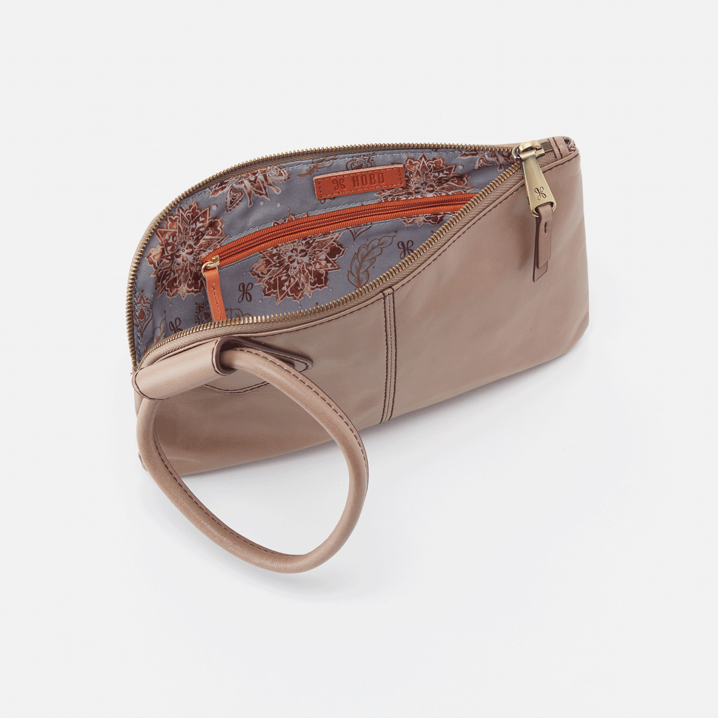 Sable Wristlet Clutch - Cobblestone