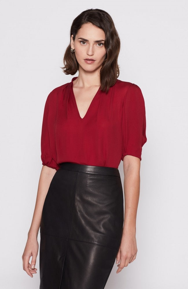 Ance Top - Cambridge Red