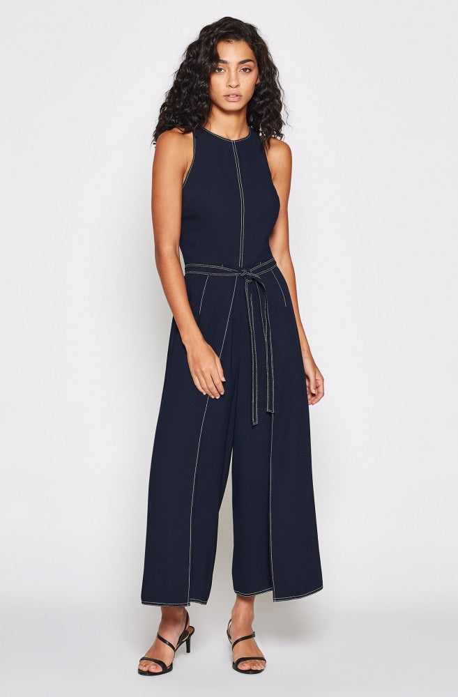 Mairead Wide-Leg Jumpsuit - Midnight