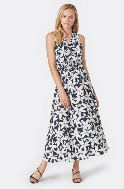 Yashi B Dress - Deep Sea