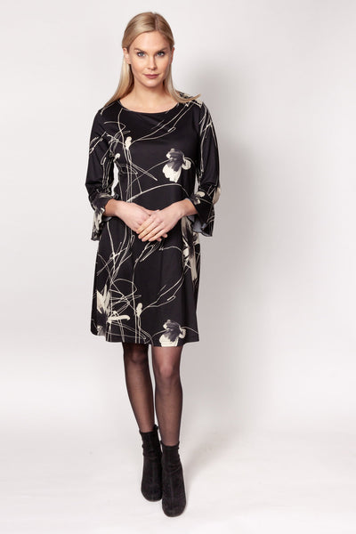 Viscose Print Dress - Posh