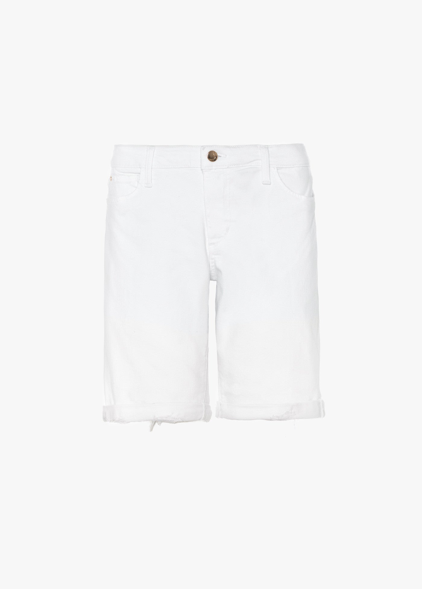The Finn Mid Rise Bermuda Shorts - Hennie