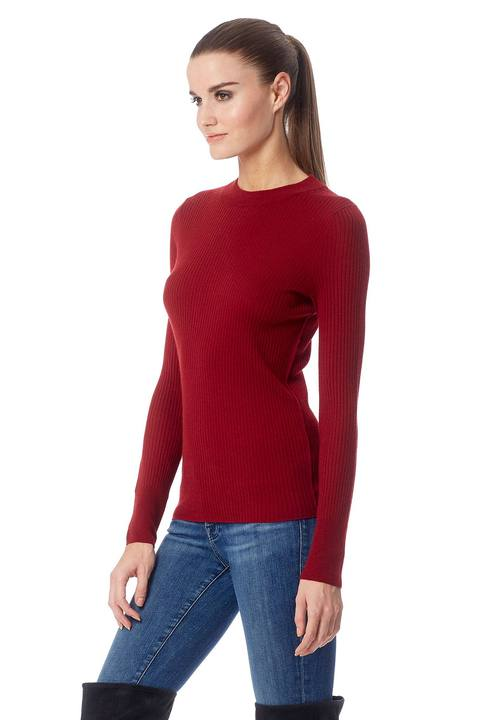 Betty Crew Neck Sweater - Russet