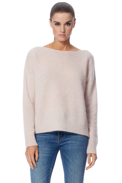 Catherine Boat Neck Sweater - Buff