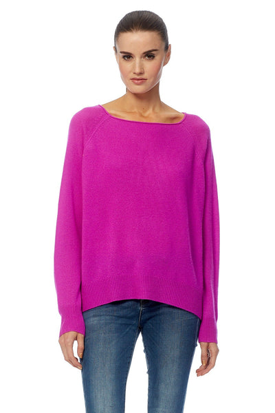 Jolene Boat Neck Sweater - Bromo