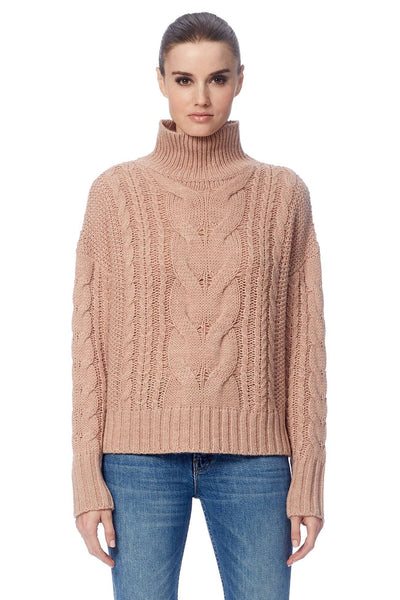 Alexia Cable Knit Sweater - Honey