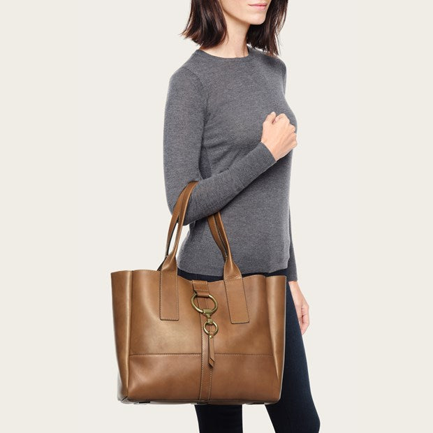 Ilana Harness Shopper - Cognac