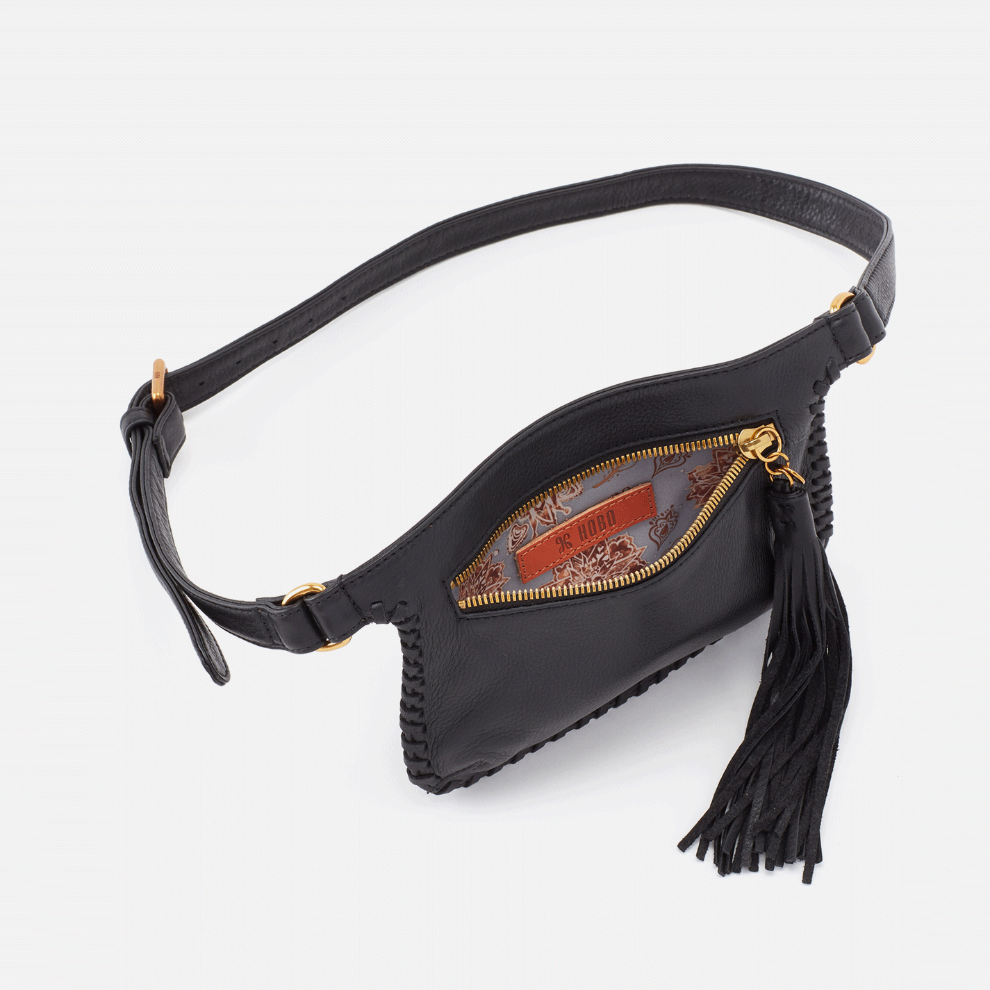 Twig Hip Belt Bag - Black