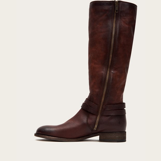 Melissa Belted Tall - Redwood