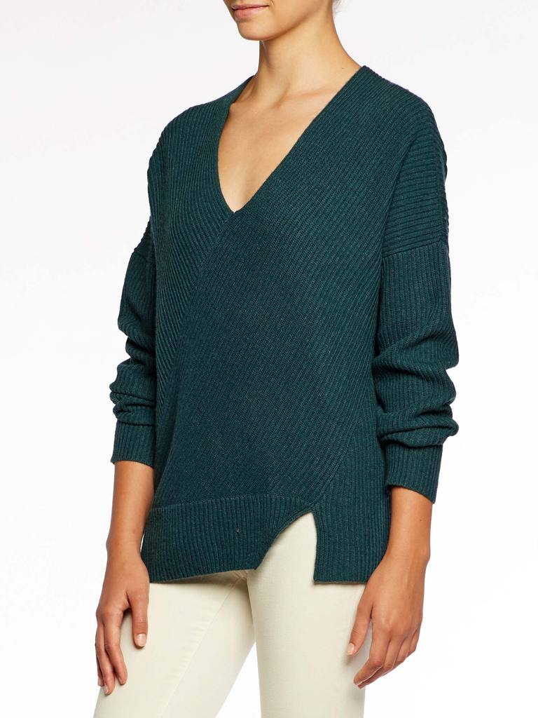 Aerin Off Shoulder Top - Forestry