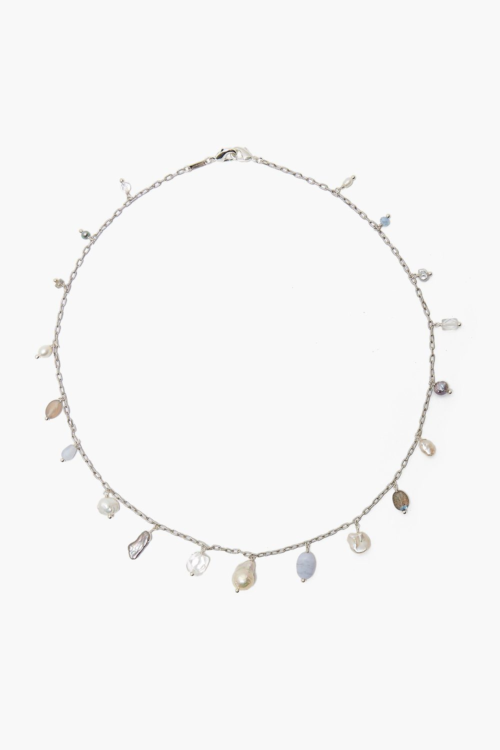 Blue Lace Agate Mix Voyage Mask Chain