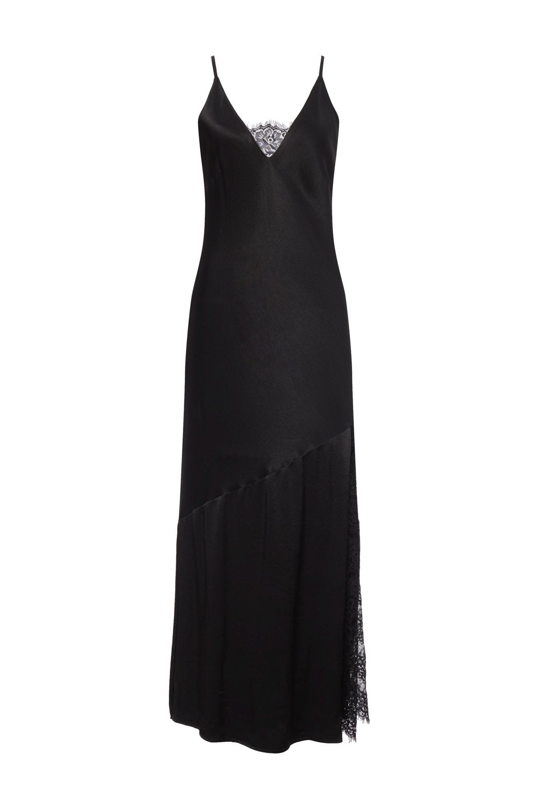 Sienna Long Dress - Black