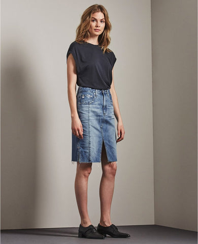 Emery Skirt - 18 Years Blue Fawn