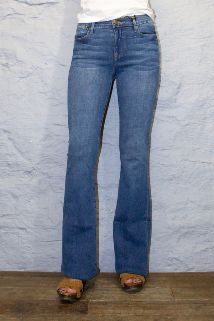 Le High Flare - Columbus Medium Wash
