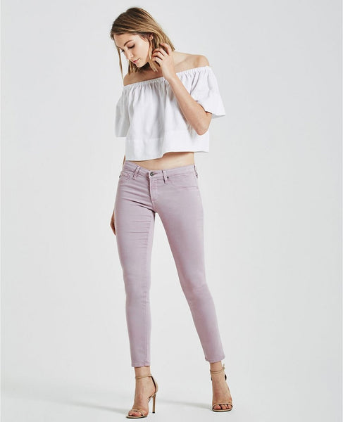Sateen Legging Ankle - Sulfur Purple Noon