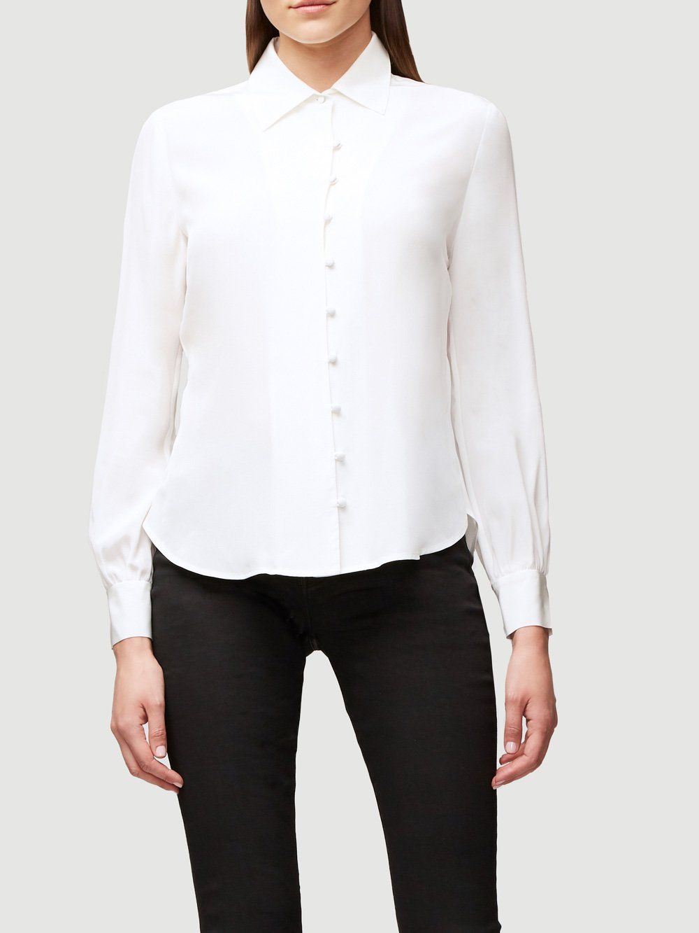 Pussy Bow Blouse - Off White
