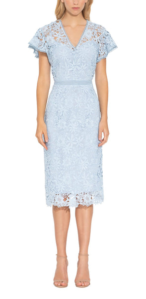 Talor Dress - Powder Blue