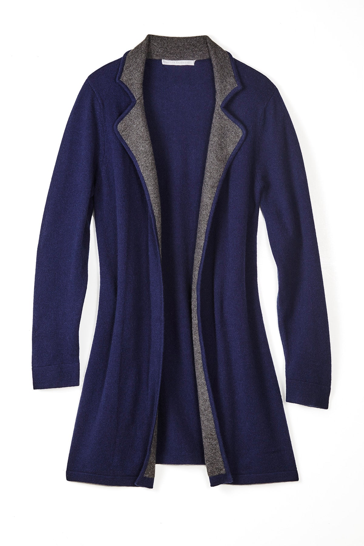 Anne Cardigan - Navy/Charcoal