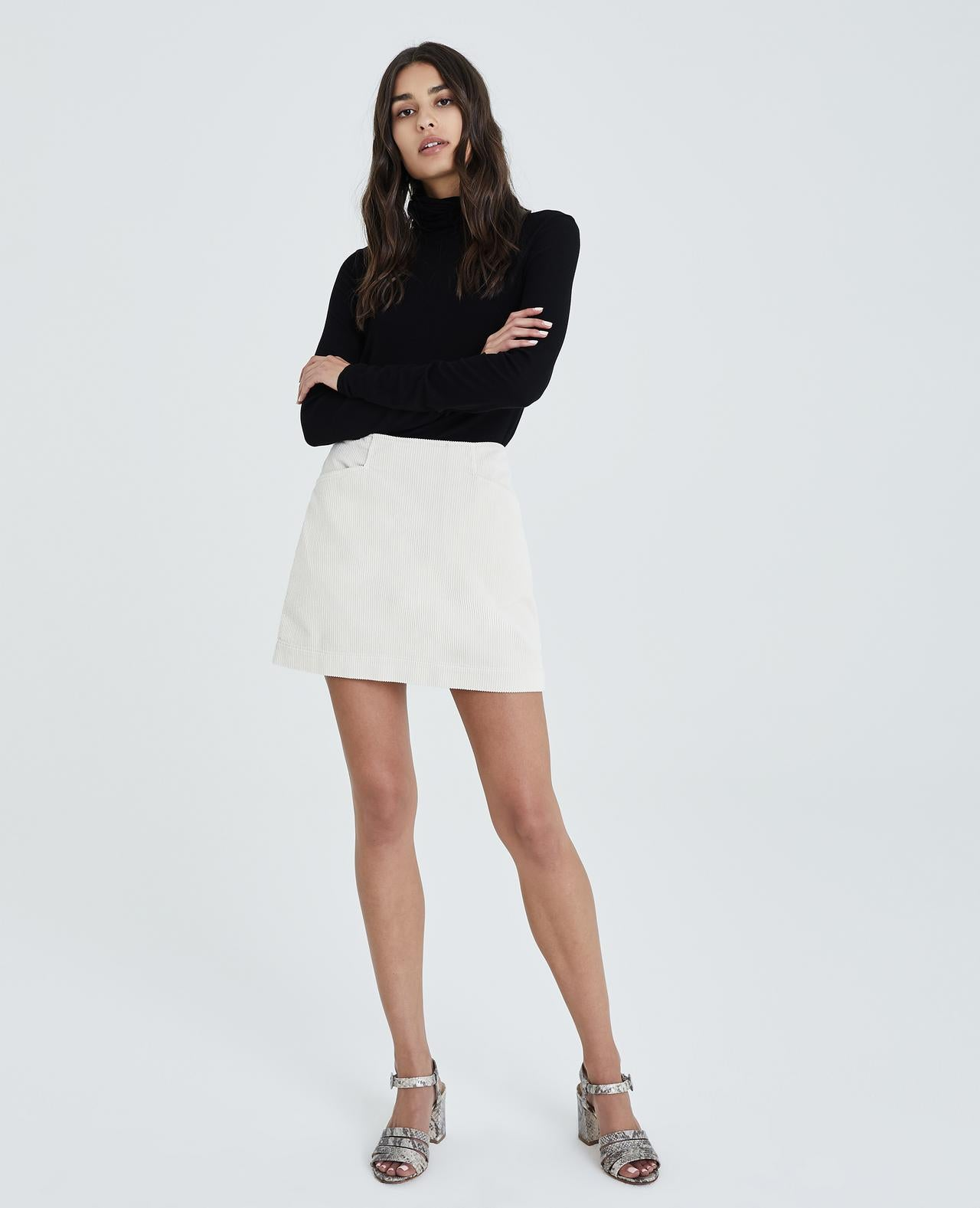 Bernadette Skirt - Ivory Dust