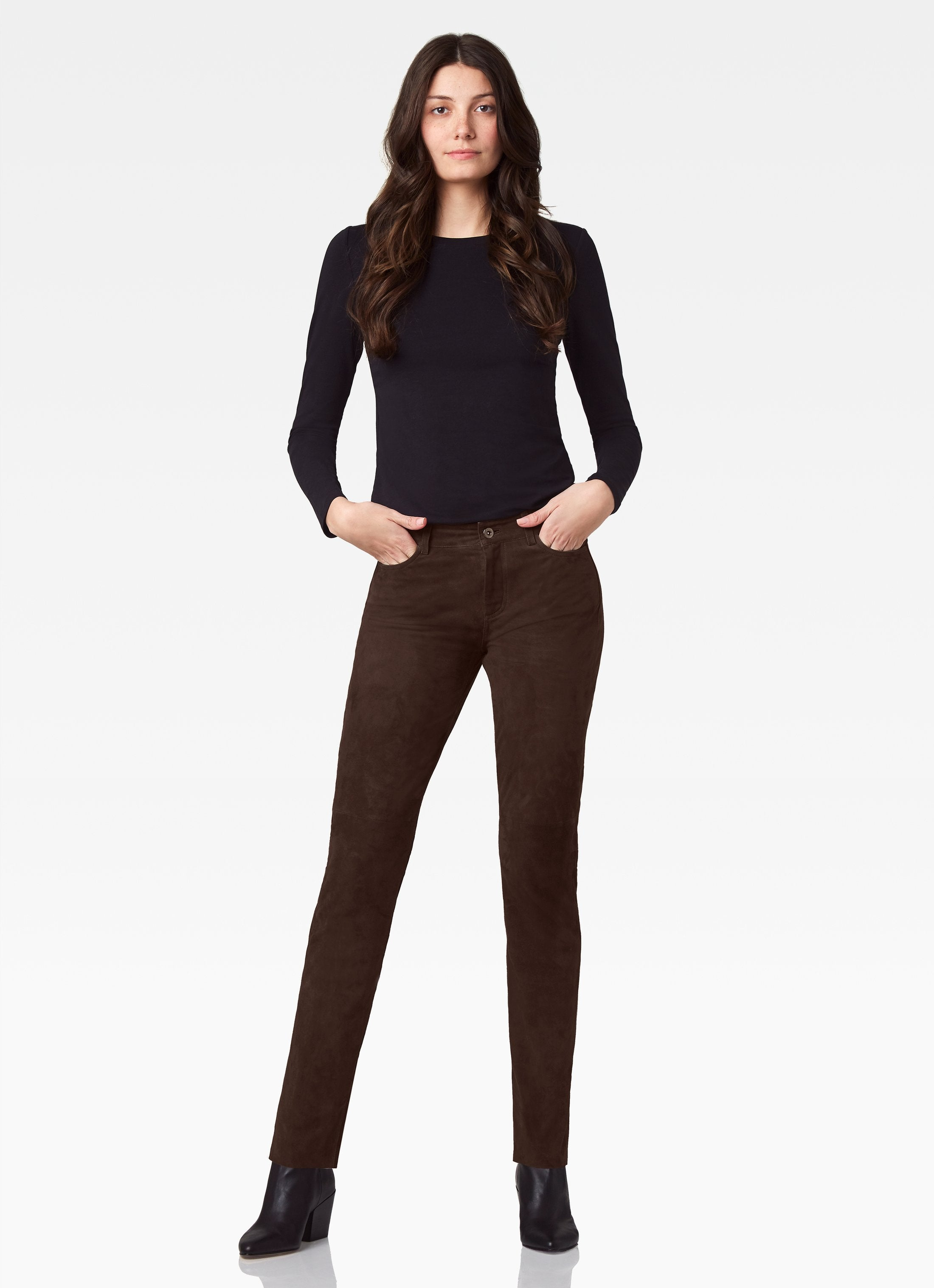 Hudson 5 Pocket Straight Leg Jean - Cocoa